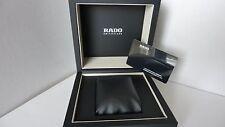 Rado Black Men's watch box in excellent condition