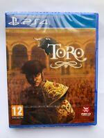 NEW - TORO - PS4 - SPANISH EXCLUSIVE - RARE - PLAYABLE IN ENGLISH REGION FREE