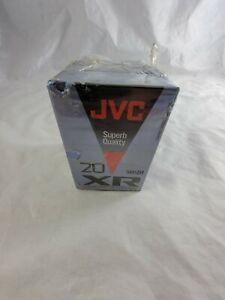 x3 Lot Of Three JVC XR Compact Video Cassette Tapes TC-20 XR Superb Quality