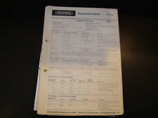 Original Service Manual  Grundig  RF 110a