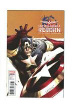 Captain America: Reborn #3 NM- 9.2 Marvel Comics 2009 Leinil Yu Variant