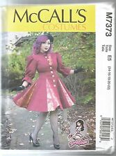 McCall's Sewing Pattern 7373, Fitted Coats Stand Collar, Sizes 6 - 14, New