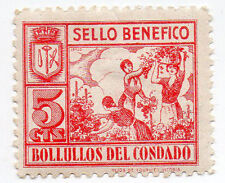 Sello Local Guerra Civil Bollullos del Condado -Cat. Galvez B97.  ORD:1366
