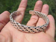 999 ( 970 to 999 ) Fine Silver Hill Tribe Bangle Bracelet Thailand A32 UN57