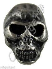 Loose Studs Skull Small Antique Silver Bag of 10 Skull Stud Btsv