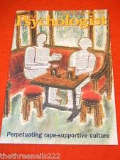 THE PSYCHOLOGIST - RAPE - DEC 1998