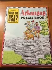 Highlights Which Way USA?: Arkansas Puzzle Book...PB