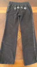 Women's Bebe Active Wear Pants Size S Brown Sequin Embellished