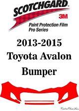 3M Scotchgard Paint Protection Film Pro Series 2013 2014 2015 Toyota Avalon