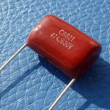 470nF 630V Metallized Polypropylene Film Capacitor, x10