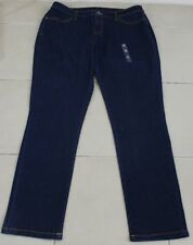 Target Dark Blue Ladies Stetch Jeans Sz 16 NEW