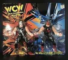 WCW Sting Crow & Wolfpac 2 Figure Set Old San Francisco Toymakers OSFTM Bat