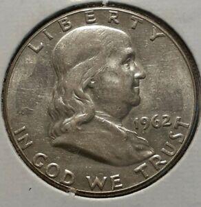 1962  FRANKLIN HALF DOLLAR
