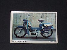 #161 PEUGEOT 50 FRANCE MOTO 2000 PANINI EDITIONS DE LA TOUR 1973