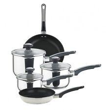 Prestige 70106 5 Piece Everyday Straining Stainless Steel Cookware Set