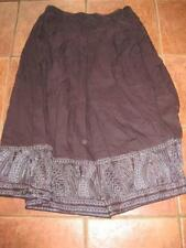 Knee Length Patternless Plus Size Skirts NEXT for Women