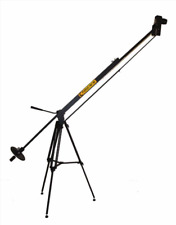 5 - 8 ft. Dual Arm Telescoping Camera Jib w mechanical Pan Head & BackPack