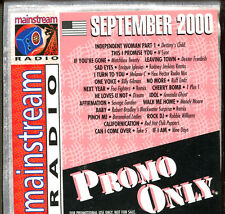 PROMO ONLY - MAINSTREAM RADIO - SEPTEMBER 2000 - PROMO CD COMPILATION