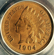 1904 PCGS MS64 Brown Indian Cent, rich medium brown surfaces
