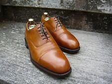 CHEANEY Oxford Hombre Zapatos – café/bronceado – UK 7.5 – CALLUM-Excelente Estado