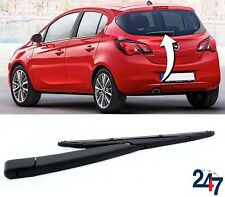 REAR WINDOW WIPER ARM 305MM BLADE SET COMPATIBLE WITH OPEL VAUXHALL CORSA E -17