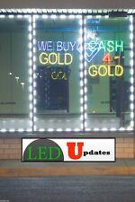 40ft STOREFRONT WINDOW LED LIGHT Bright Flashing White 5630 + UL Power & Remote