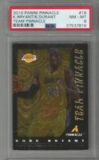 2013 Panini Pinnacle Kobe Bryant/ Kevin Durant Team Pinnacle PSA 8