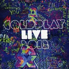 2 DISC  Coldplay - Live 2012 ( AUDIO CD + DVD PAL )