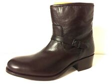 NEW Frye Lynn Strap Short SZ 10 Highest Quality Material Brown Leather Boot Shoe
