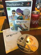 SINGSTAR SING STAR ORIGINAL PS2 Playstation 2 Video Game C