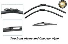 "Ford C-max 2011- Onwards New Front and Rear windscreen wiper blades 30""26""12"""