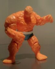 "Rare Marvel Fantastic 4 The Thing 5"" Figure with Clobberin time punch 1994"