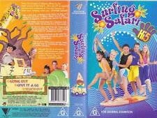 HI 5 SURFING SAFARI   VHS VIDEO PAL~ A RARE FIND IN EXCELLENT CONDITION