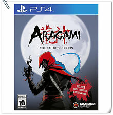 PS4 Aragami Collector's Edition SONY Playstation Maximum Action Games