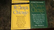 Mr. Cheaps Chicago, First and Updated Second Edition - 2 Books