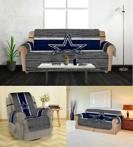 Dallas Cowboys Sofa Cover 1 2 3 Seater Couch Protector Loveseat Slipcover Mat
