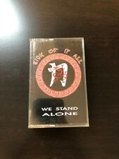 Sick Of It All - We Stand Alone Cassette Tape Punk Rock Hardcore