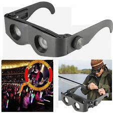Portable Glasses Style Telescope Magnifier Binocular For Fishing Hiking Concert