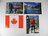 Canada Postkarten NEU,4 verschiednen Kanada Motive,four postcards,NEU,unbenutzt