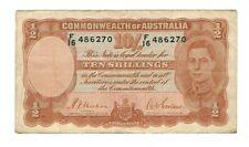 New listing Australia - Ten (10) Shillings 1942