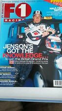 F1 racing magazine August 2003 Jenson Button