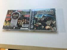 Star Wars - Episode I - Jedi Power Battles - Playstation 1 - PS1 - PS2 - PS3