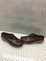 Merrell QForm 2 Espresso Leather Slip On Casual Comfort Shoes Women's Size 9