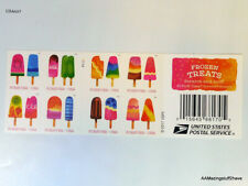 Frozen Treats Forever Postage Stamp Scratch-and-Sniff Sheet of 20 stamps