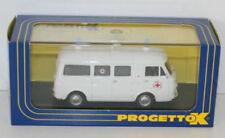 Ambulances miniatures pour Fiat 1:43