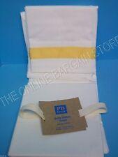 1 Pottery Barn Teen PBT Suite Ribbon Drapes Panels Curtains Yellow 52x63