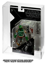 Star Wars Hasbro Black Series Archive Carded Action Figure Acrylic Display Case