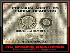 OS FS 61 OS 70 FS SURPASS II RC Engine BEARINGS KIT +CAM BEARINGs  ABEC3 upgrade