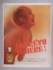 Imprevu Perfume by Coty PRINT AD - 1965