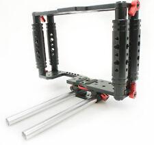 Kamerar jaula tk-2 tanque con soporte para rod Cage vídeo DSLR canon 5d 7d-Demo